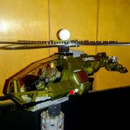 Turn my wasp into an Attack Helicopter.